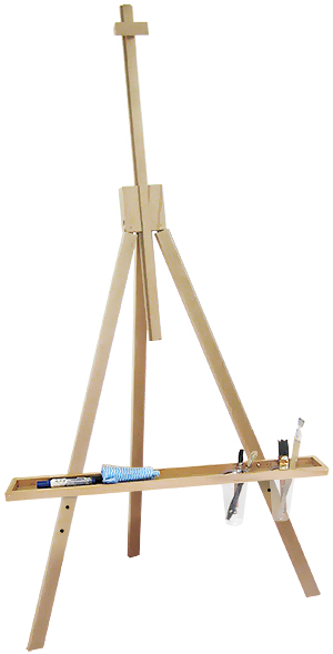 Childrens Fold Away Tripod Easel
